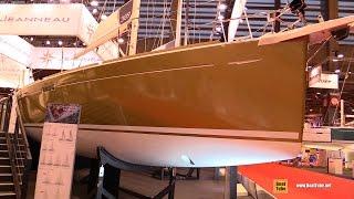 2017 Jeanneau Sun Odyssey 389 Yacht - Deck and Interior Walkaround - 2016 Salon Nautique Paris