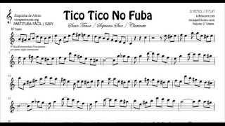 Tico Tico Partitura Fácil Si Bemol Clarinete Saxo Tenor Soprano Sax