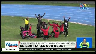 Dennis Oliech makes Gor Mahia debut