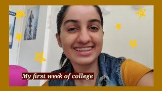First week of college ❤️❤️ | weekly vlogs|[NEON GIRL]