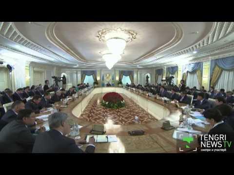 Nazarbayev rearranges Kazakh government