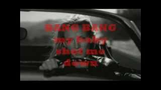 Kill Bill Soundtrack - BANG BANG (My baby shot me down) + Lyrics - Nancy Sinatra