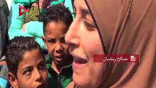 أم طفل مصاب بفشل كلوي توجه رسالة إلى محمد صلاح بعد مشاركة ابنها في جرافيتي له