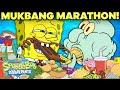 Mukbang Marathon 🍔 Everything Eaten in Bikini Bottom!   SpongeBob