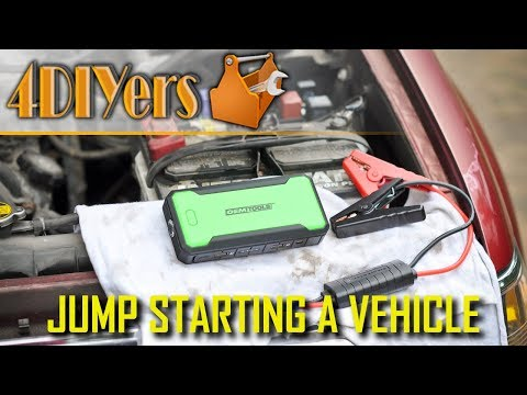 How To Jump Start A Vehicle Using A Portable Power Bank