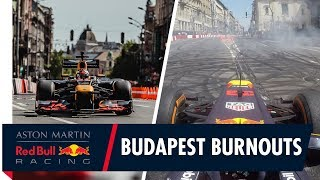 On Board For Some Budapest Burnouts With Max Verstappen