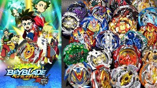 ALL SEASON 3 Beyblade Burst CHO-Z/TURBO Marathon Battle!