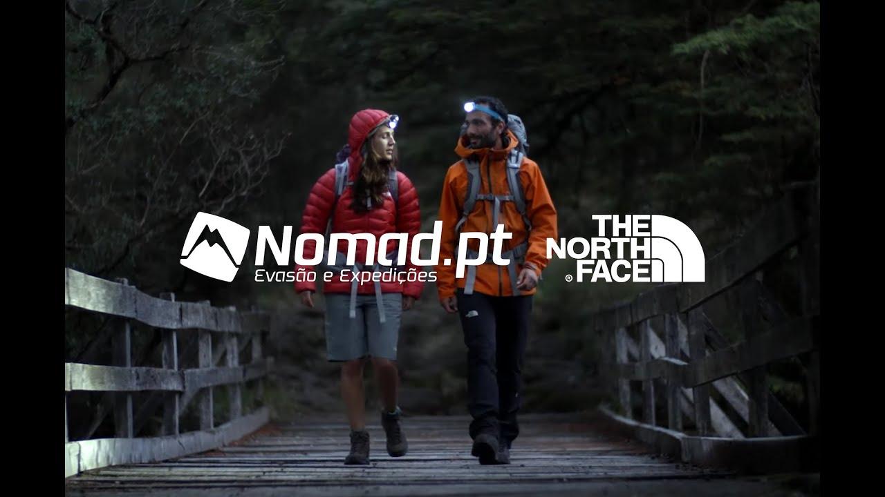 senderismo the north face