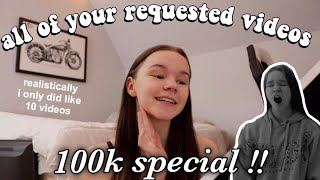 all of your requested videos in one!! (room tour, sneaking out, horror games etc..)