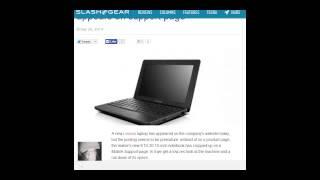 Laptop Lenovo E10-30