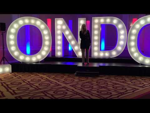 #MILaunchLondon - Guest Speaker Tracy Halliwell MBE - YouTube