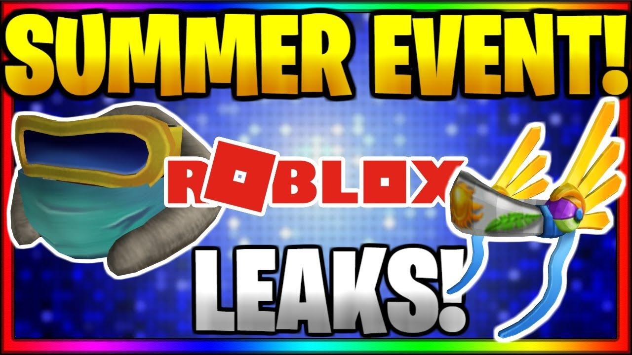 Insane Free Promo Code Item Leaks Summer Event Leaks Roblox
