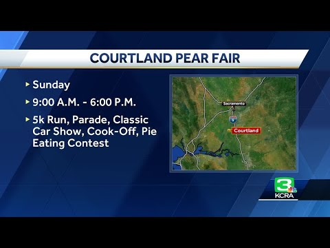 Celebrating all things Pear at the Courtland Pear Fair