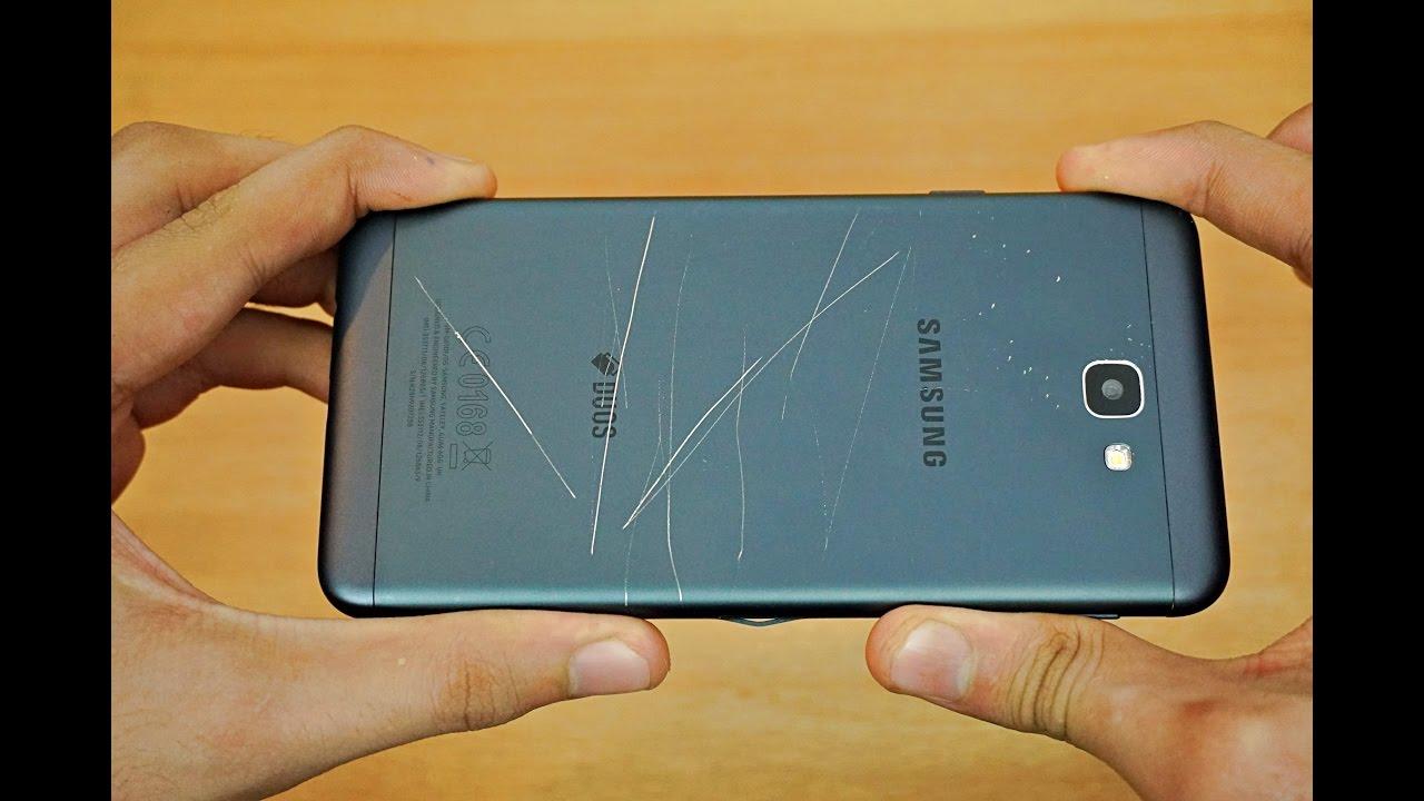 Samsung Galaxy J7 Prime Bend Test 4k Youtube