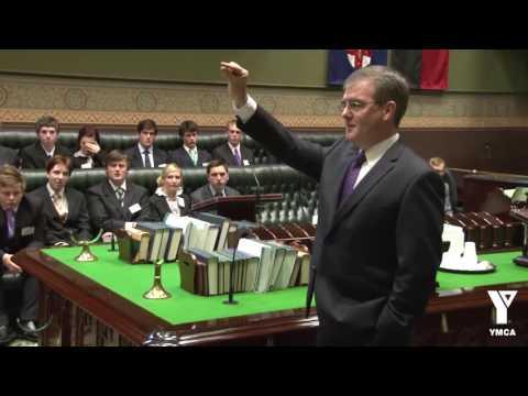 The Hon. Michael Daley addresses YP2011