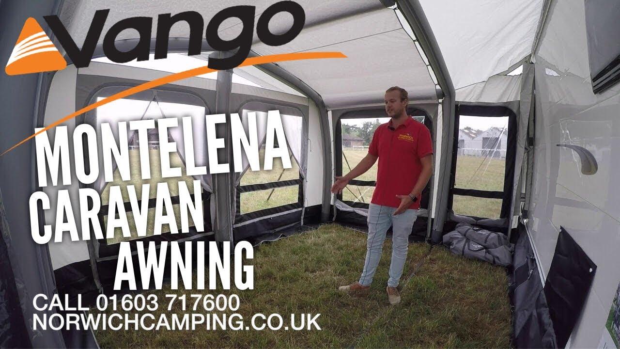 Vango Montelena 400 Airbeam Caravan Awning Review - YouTube