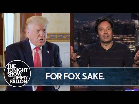 Trump Crawls Back to Fox After Disastrous HBO Interview | The TonightShow