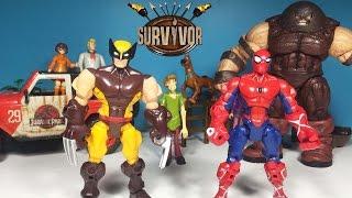 Survivor Yarışma Finali 6 | Örümcek Adam mı yoksa Wolverine mi ? | Süper Oyuncaklar