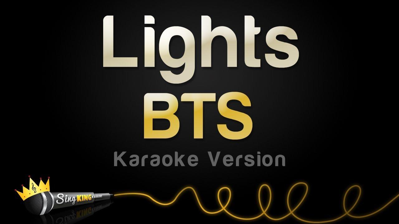 BTS - Lights (Karaoke Version)