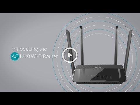 D-Link DIR-825 AC 1200 Wi-Fi Dual-Band Gigabit Router (Unboxing & Configuration)
