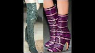 видео Тренды осень-зима 2014-2015: модная обувь