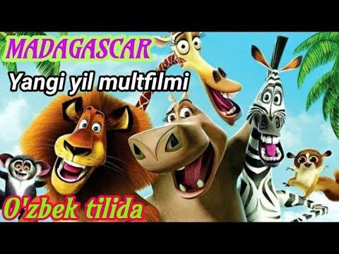 Madagascar Yangi Yil Multfilmi O'zbek Tilida