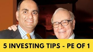 MOHNISH PABRAI 5 STOCK MARKET INVESTING TIPS
