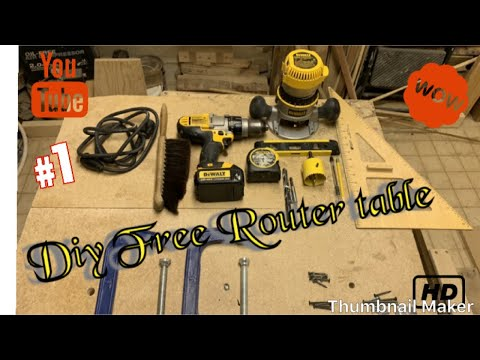 DIY Router Table 150$$$ Mystery Giveaway Part 1 & 2