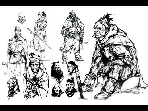 Dynamic Sketching II with Peter Han | Master Class Demo