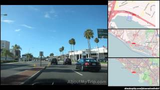 East Coast Highway (Newport Beach, CA) to Pacific Coast Highway (Huntington Beach, CA) via Co (...)