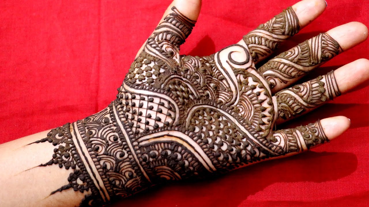 Traditional Mehndi Designs Photos : Easy traditional mehndi festive designs integrators