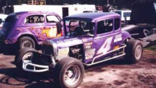 Vintage Dirt Track Racing Of Today Pt 1