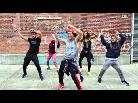 "Dance Cardio: ""BAILAME"" by Alex Sensation ft. Shaggy and Yandel. Zumba® Routine * Team #iN2iT!"
