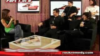 The Glass Plastiks- interview part 1 on Vlaze TV