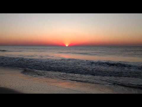 Sunrise at Tybee Island, GA.