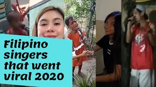 FILIPINO SINGERS THAT WENT VIRAL 2020 UPDATED