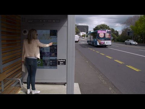 Connected Bus Shelters for a Smarter City