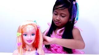 Mainan Make Up dan Boneka Rias 💖 Barbie Doll Beauty Vogue Girl 💖 Let's Play Jessica 💖