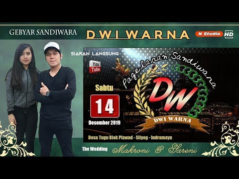 LIVE SANDIWARA DWI WARNA | PERNIKAHAN MAKRONI & SARENI EDISI SIANG