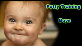 Potty training boys fast - Potty training boys easy - Potty training tips for boys