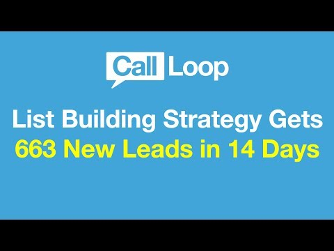 SMS Marketing Strategy Generates 663 New Leads in 14 Days