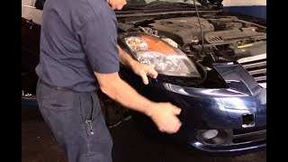 How to replace the front bumper cover