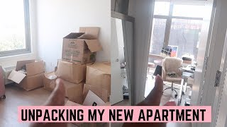 BACK IN NEW YORK! UNPACKING MY NEW APARTMENT!
