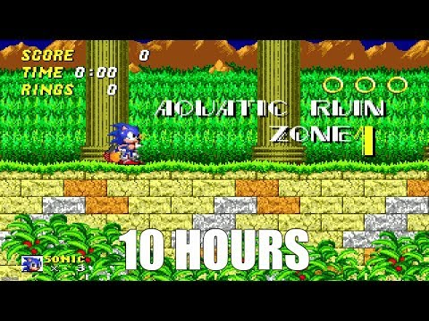 Sonic 2 - Aquatic Ruin Zone Extended (10 Hours)