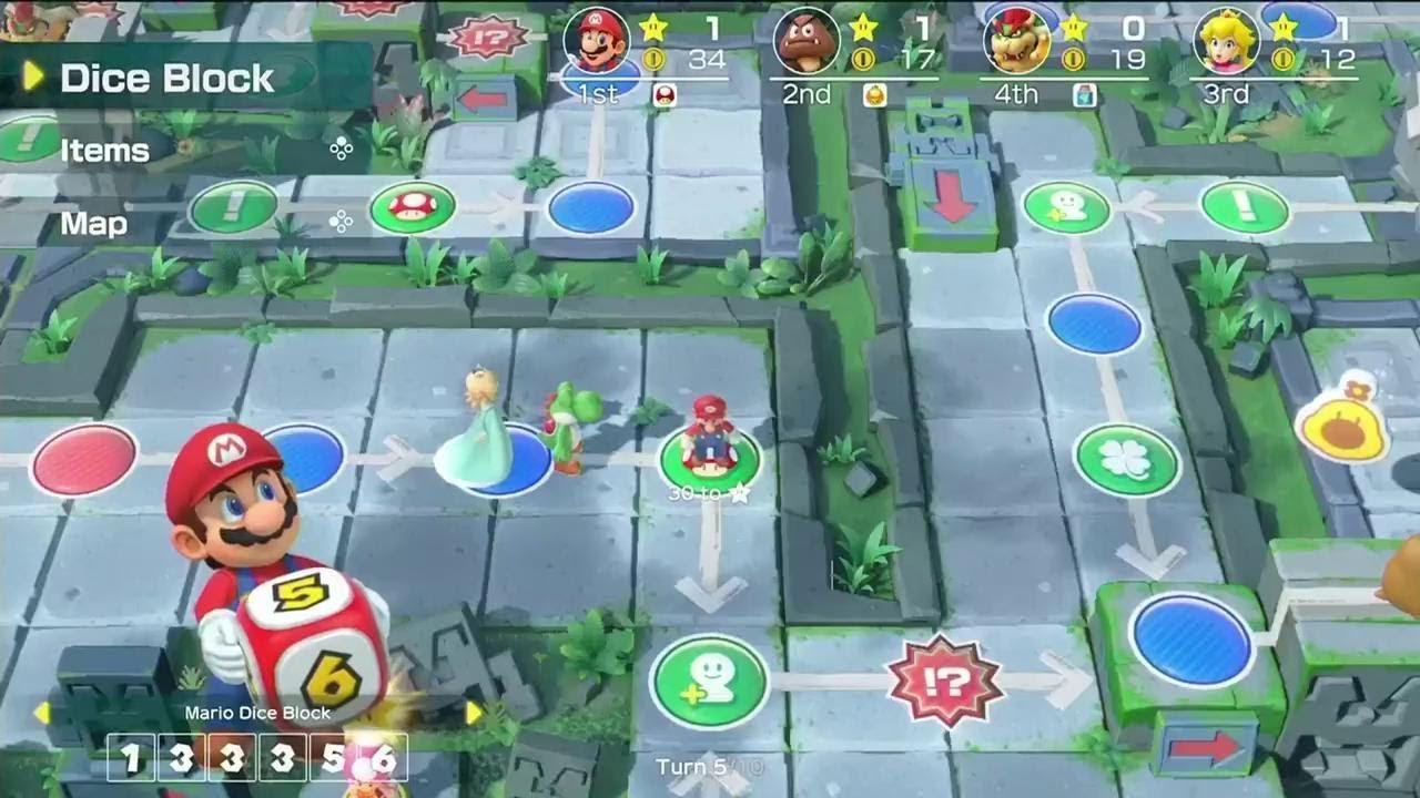 Super Mario Party Trailer - E3 2018 - YouTube