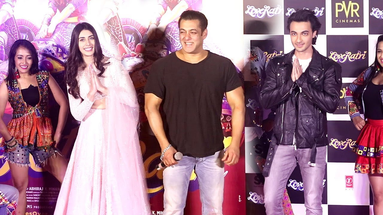 LIVE Salman Khan Launches Brother in Law Ayush Sharma's Film LOVE RATRI Trailer Complete Video