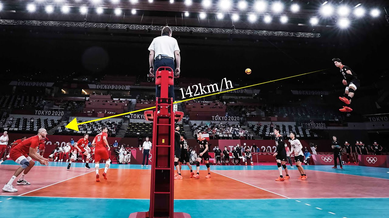 This is the Fastest Volleyball Serves in 2021
