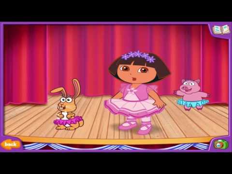 Cartoon game  Super Dora   Dora's Dress Up Adventures  NEW!  Full Episodes in English 2015