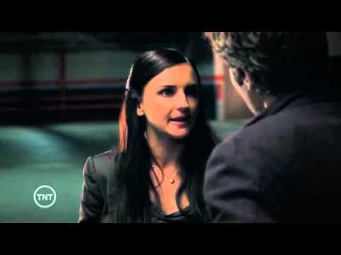 Perception 1x09 Shadow - Daniel and Kate kiss scene