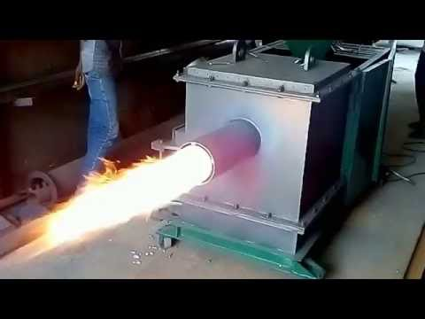 Industrial Wood Pellet Burner | Open firing | Save your Fuel cost up to 50% against Diesel